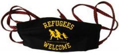 """Zur Mundmaske """"Refugees welcome"""" für 6,34 € gehen."""