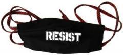 """Zur Mundmaske """"Resist"""" für 6,50 € gehen."""