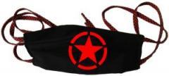 """Zur Mundmaske """"Roter Stern im Kreis (red star)"""" für 6,34 € gehen."""
