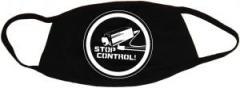"""Zur Mundmaske """"Stop Control Kamera"""" für 6,34 € gehen."""