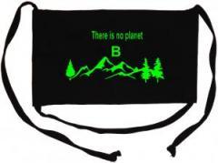 """Zur Mundmaske """"There is no planet B"""" für 6,50 € gehen."""