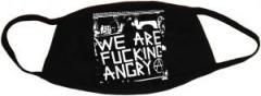 """Zur Mundmaske """"We are fucking Angry!"""" für 6,50 € gehen."""