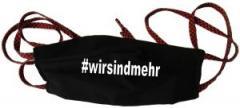 """Zur Mundmaske """"#wirsindmehr"""" für 6,50 € gehen."""