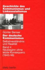 """Zum Buch """"Der deutsche Kommunismus Band 4"""" von Günter Benser für 24,90 € gehen."""