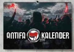 """Zum Kalender """"Antifa Soli-Wandkalender 2019"""" für 14,00 € gehen."""