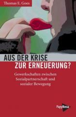 """Zum Kalender """"Aus der Krise zur Erneuerung?"""" von Thomas E Goes für 13,90 € gehen."""