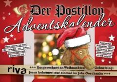 """Zum Kalender """"Der Postillon Adventskalender"""" von Stefan Sichermann für 7,99 € gehen."""