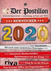 """Zum Kalender """"Der Postillon +++ Newsticker +++ 2020"""" von Stefan Sichermann für 14,99 € gehen."""
