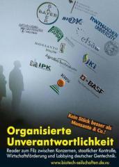 """Zur Broschüre """"Organisierte Unverantwortlichkeit"""" für 2,00 € gehen."""