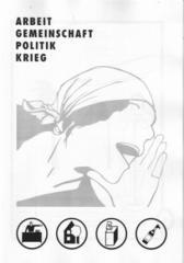 """Zur Broschüre """"Prole Info: Arbeit, Gemeinschaft, Politik, Krieg"""" für 3,00 € gehen."""