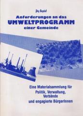 """Zum/zur  Broschüre """"Umweltprogramm einer Gemeinde"""" von Jörg Bergstedt für 4,00 € gehen."""