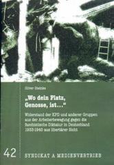 """Zur Broschüre """"Wo dein Platz, Genosse, ist..."""" von Oliver Steinke für 2,50 € gehen."""