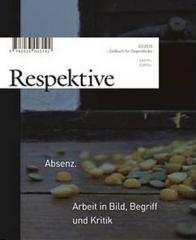 """Zum Buch """"Respektive - Zeitbuch für Gegenblicke"""" von Lukas Germann, Nicole Peter und Herr R. für 13,00 € gehen."""