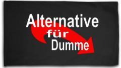 """Zur Fahne / Flagge (ca. 150x100cm) """"Alternative für Dumme"""" für 16,00 € gehen."""