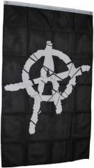 """Zur Fahne / Flagge (ca. 150x100cm) """"Anarchie"""" für 13,00 € gehen."""