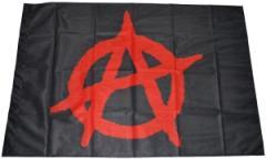 """Zur Fahne / Flagge (ca. 150x100cm) """"Anarchie (schwarz)"""" für 12,67 € gehen."""
