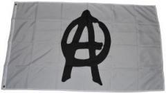 """Zur Fahne / Flagge (ca 150x100cm) """"Anarchie"""" für 13,00 € gehen."""