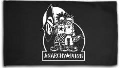 """Zur Fahne / Flagge (ca. 150x100cm) """"Anarchy Punk"""" für 15,60 € gehen."""