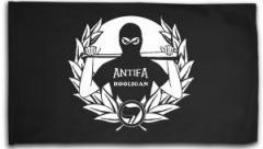 """Zur Fahne / Flagge (ca. 150x100cm) """"Antifa Hooligan"""" für 19,00 € gehen."""