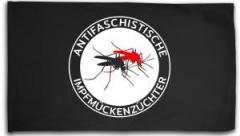 """Zur Fahne / Flagge (ca. 150x100cm) """"Antifaschistische Impfmückenzüchter"""" für 16,00 € gehen."""