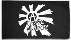 """Zur Fahne / Flagge (ca. 150x100cm) """"Create Anarchy"""" für 15,60 € gehen."""