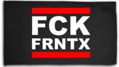 """Zur Fahne / Flagge (ca. 150x100cm) """"FCK FRNTX"""" für 15,60 € gehen."""