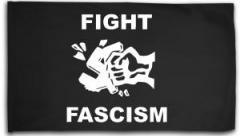 """Zur Fahne / Flagge (ca. 150x100cm) """"Fight Fascism"""" für 16,00 € gehen."""