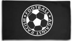 "Zur Fahne / Flagge (ca. 150x100cm) ""Football against racism"" für 16,00 € gehen."