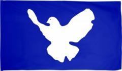 """Zur Fahne / Flagge (ca. 150x100cm) """"Friedenstaube"""" für 16,00 € gehen."""