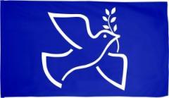 """Zur Fahne / Flagge (ca. 150x100cm) """"Friedenstaube mit Zweig"""" für 16,00 € gehen."""