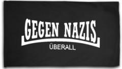 """Zur Fahne / Flagge (ca. 150x100cm) """"Gegen Nazis Überall"""" für 16,00 € gehen."""