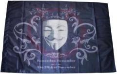 """Zur Fahne / Flagge """"Guy Fawkes Vendetta"""" für 13,00 € gehen."""