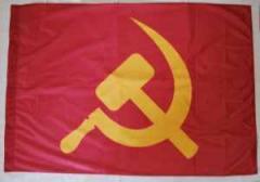 """Zur Fahne / Flagge """"Hammer und Sichel (rot / gelb)"""" für 12,00 € gehen."""