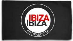 """Zur Fahne / Flagge (ca. 150x100cm) """"Ibiza Ibiza Antifascista (Schrift)"""" für 15,60 € gehen."""