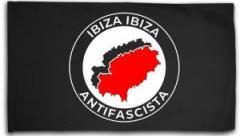 """Zur Fahne / Flagge (ca 150x100cm) """"Ibiza Ibiza Antifascista"""" für 16,00 € gehen."""
