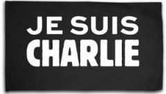 """Zur Fahne / Flagge (ca. 150x100cm) """"Je suis Charlie"""" für 16,00 € gehen."""