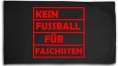 """Zur Fahne / Flagge (ca. 150x100cm) """"Kein Fußball für Faschisten"""" für 19,00 € gehen."""