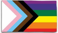 """Zur Fahne / Flagge (ca. 150x100cm) """"New Rainbow"""" für 16,00 € gehen."""