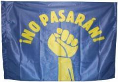 "Zur Fahne / Flagge (ca. 150x100cm) ""No pasarán!"" für 13,00 € gehen."