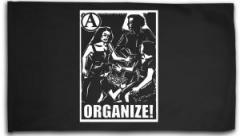 """Zur Fahne / Flagge (ca. 150x100cm) """"Organize"""" für 16,00 € gehen."""