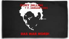 "Zur Fahne / Flagge (ca. 150x100cm) ""Oury Jalloh - 7. Januar 2005"" für 16,00 € gehen."