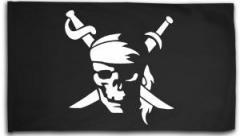 """Zur Fahne / Flagge (ca. 150x100cm) """"Pirate"""" für 15,60 € gehen."""