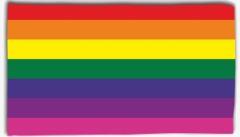 """Zur Fahne / Flagge (ca. 150x100cm) """"Regenbogen"""" für 13,00 € gehen."""