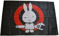 """Zur Fahne / Flagge (ca. 150x100cm) """"Sabotagehase"""" für 12,67 € gehen."""
