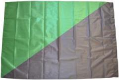 """Zur Fahne / Flagge (ca. 150x100cm) """"Schwarz/grüne Fahne"""" für 12,67 € gehen."""