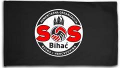 """Zur Fahne / Flagge (ca. 150x100cm) """"SOS Bihac"""" für 18,00 € gehen."""