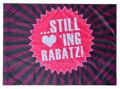 """Zur Fahne / Flagge (ca. 150x100cm) """"Still loving Rabatz!"""" für 13,00 € gehen."""