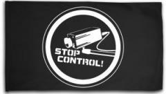 """Zur Fahne / Flagge (ca. 150x100cm) """"Stop Control Kamera"""" für 16,00 € gehen."""