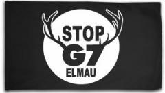 """Zur Fahne / Flagge (ca. 150x100cm) """"Stop G7 Elmau"""" für 16,00 € gehen."""