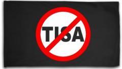 """Zur Fahne / Flagge (ca 150x100cm) """"Stop TISA"""" für 16,00 € gehen."""